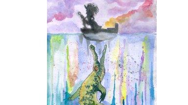 Captain Hook Watercolor Tutorial Disney Villains Art Crawl