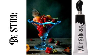 Still Life  Fruits Acrylic tutorial Step by step Live Stream