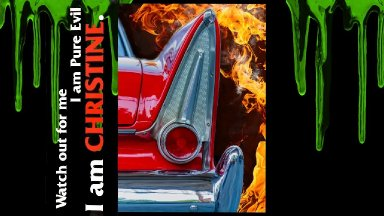 Christine Acrylic painting step by step 13 Days of Halloween