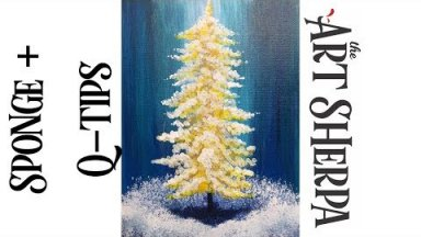 Simple Secret Santa How to Paint with Acrylics for Beginners