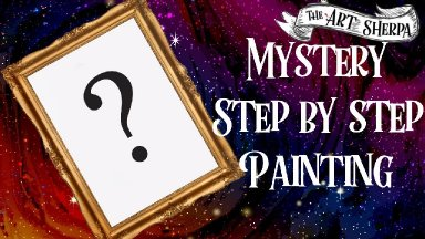 WHAT WILL HAPPEN ??  Mystery Acrylic Painting  Step by step Live stream