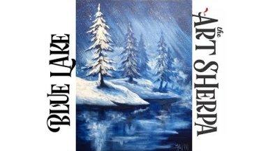 How to paint with Acrylic on Canvas  Hanukkah Menorah Step by Step #5